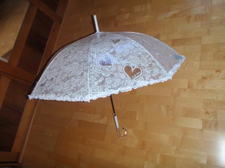 Svadobný dáždnik ,