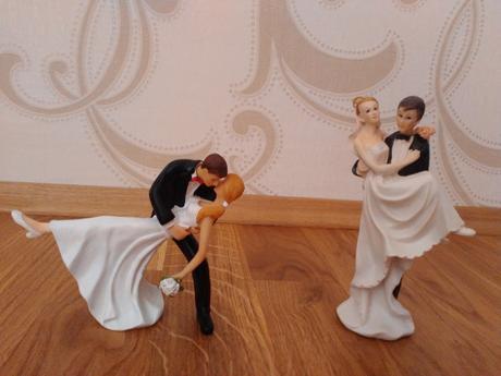 Ženích a nevesta na tortu - postavičky ,