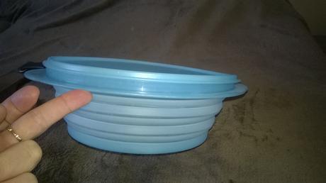Tupperware skladacia miska,