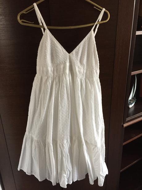 Bílé šaty Zara vel. XS, 36