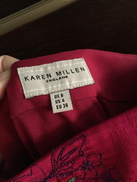 Hedvábné šaty Karen Millen England, vel. 36, 36