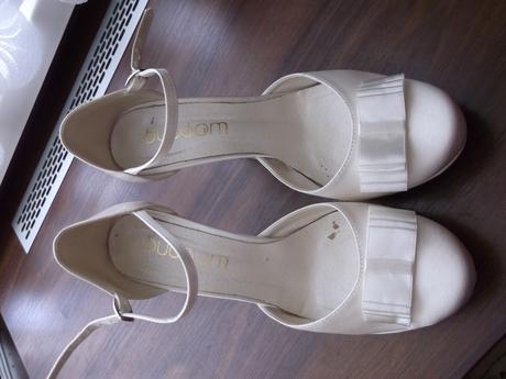 Svadobné topánky č.38, 38