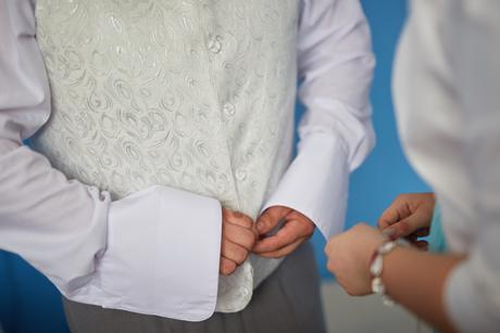 Vesta pre ženícha, XXL