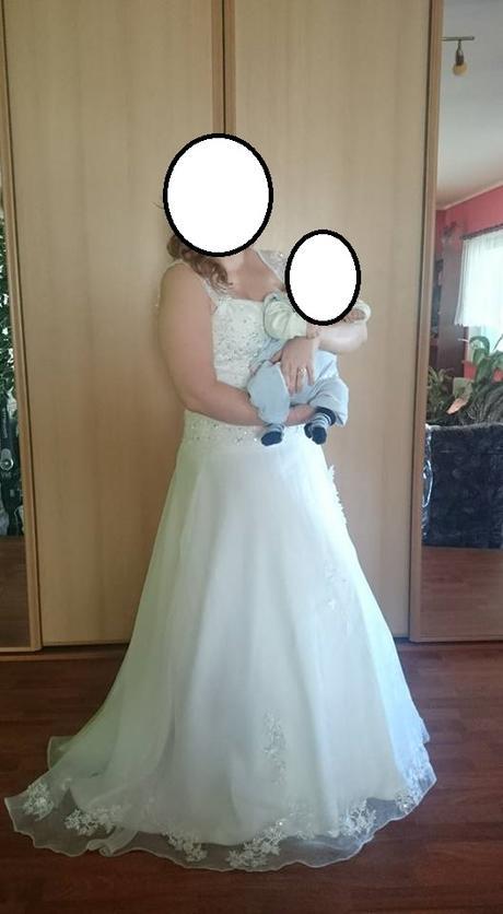 Svatební šaty vel. 42-44, 42