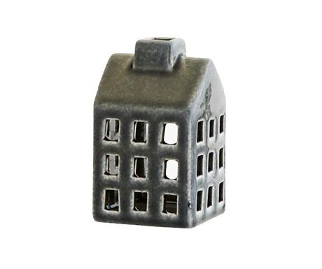 Keramický lampášik domček, 10cm,