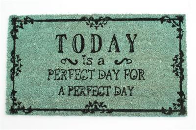 """Rohožka  pred dvere """"Perfect day"""","""