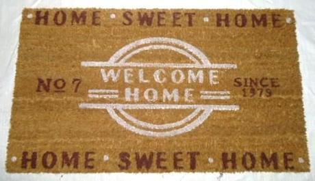 "ROHOŽKA pred dvere, ""Welcome Home"","