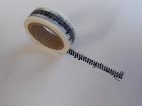 WASHI dizajnová páska, 15 mm x 10 m,