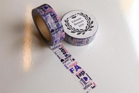 WASHI dizajnová páska ,