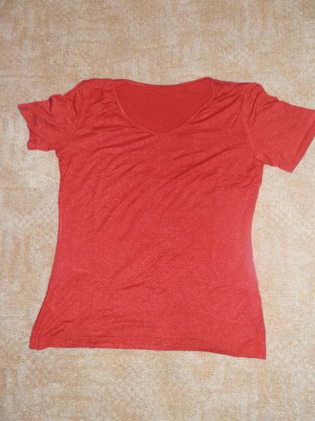 Tričko s drobnými třpitkami, 38