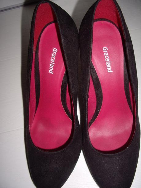 1 krat obute cierne lodicky - Gracelland, 38