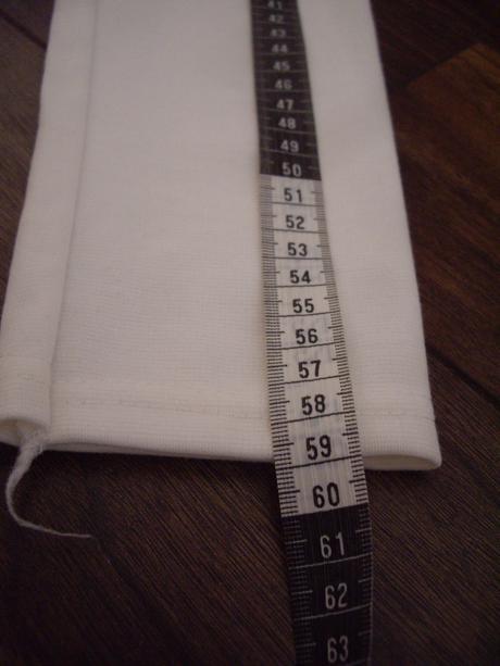 Biele sexi saty s dlhym rukavom-nenosenne, XS