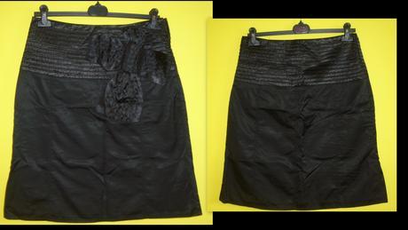 Čierna spoločenská sukňa , 40