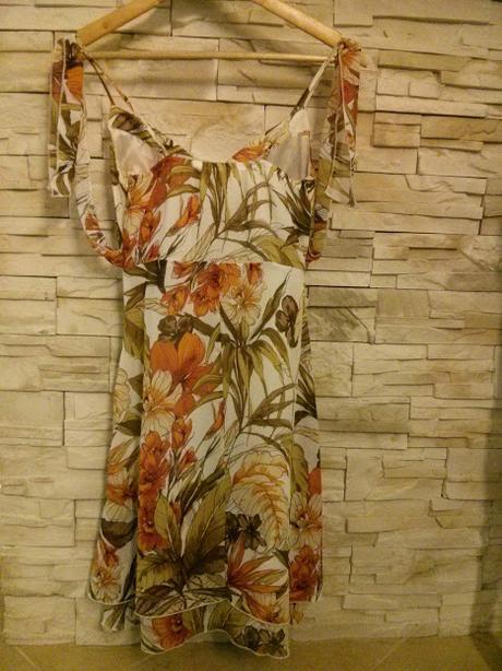 ramienkové šaty, 36