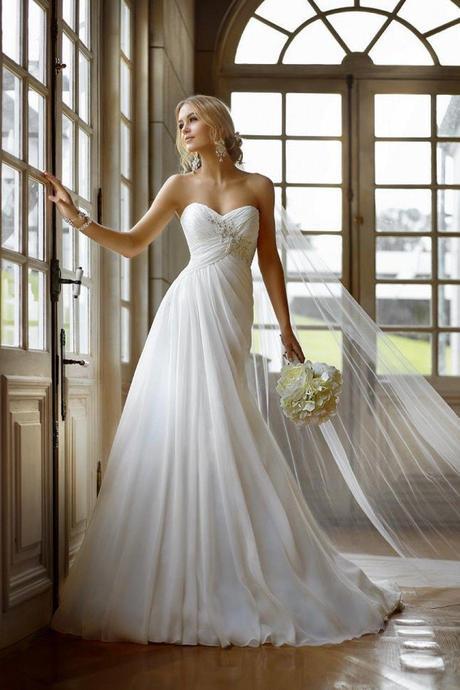 svadobné šaty vhodné aj pre tehotné nevesty , 42