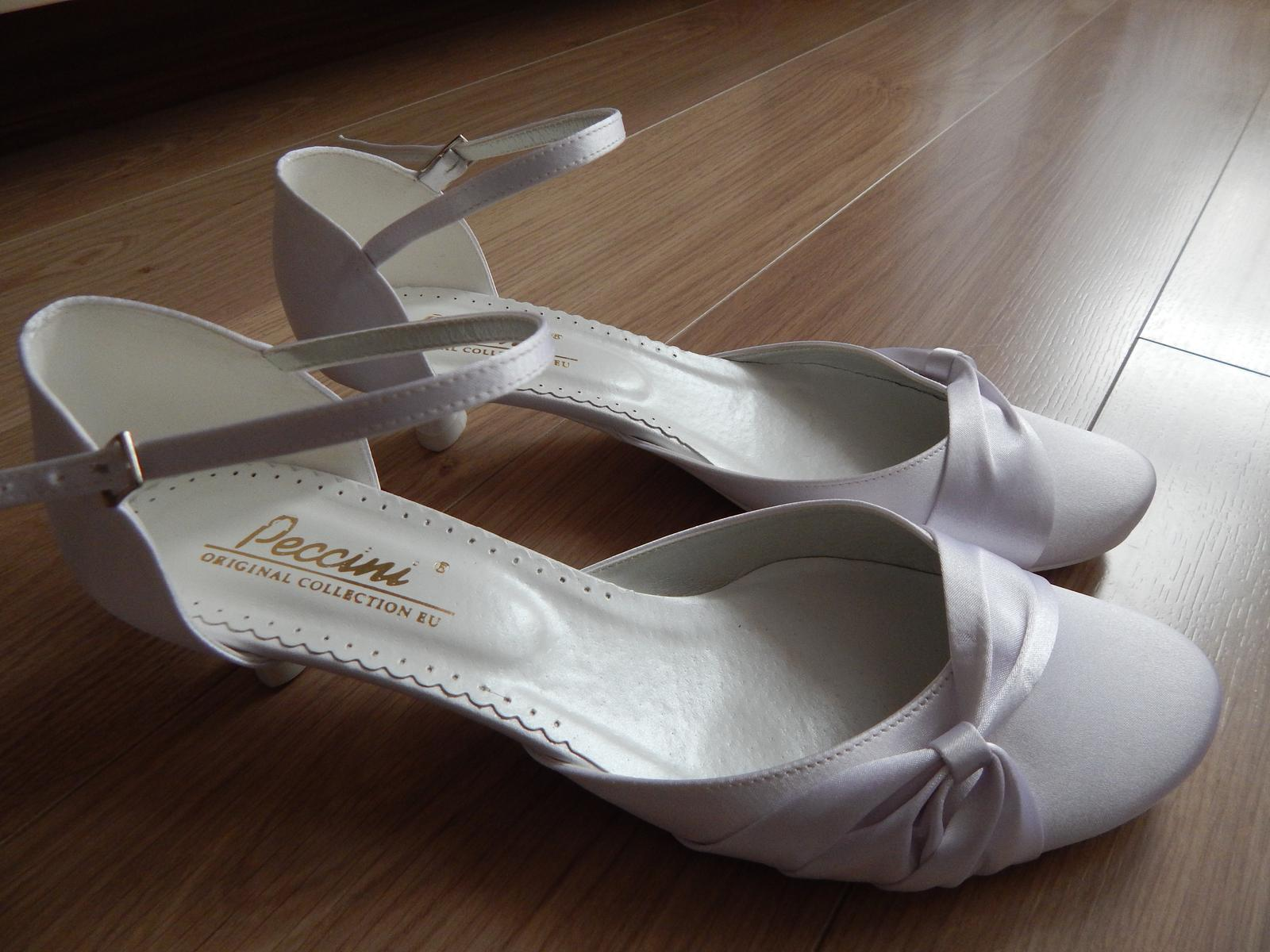 22629849234 Svatební boty peccini