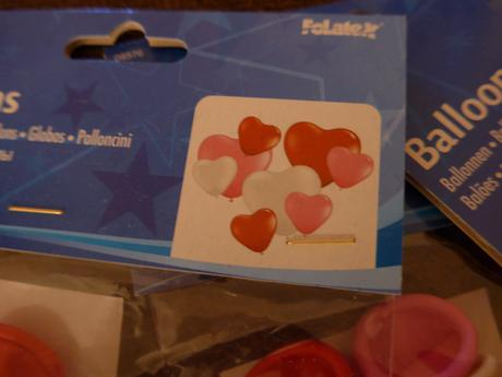 Nafukovací balónky - srdce,