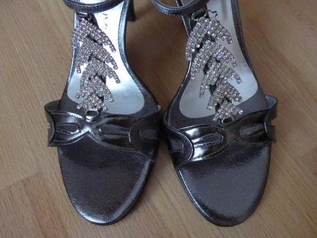 Plesové sandálky, 41