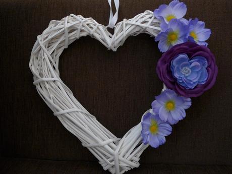 Srdce - fialové,