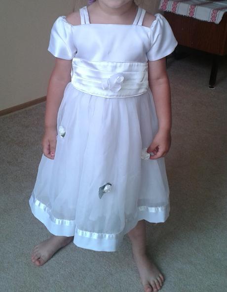 šaty pre dievčatko, 86