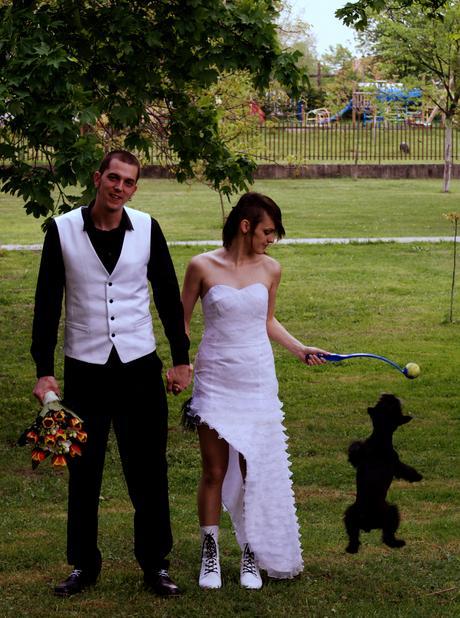 Asymetrické svadobné šaty , 39
