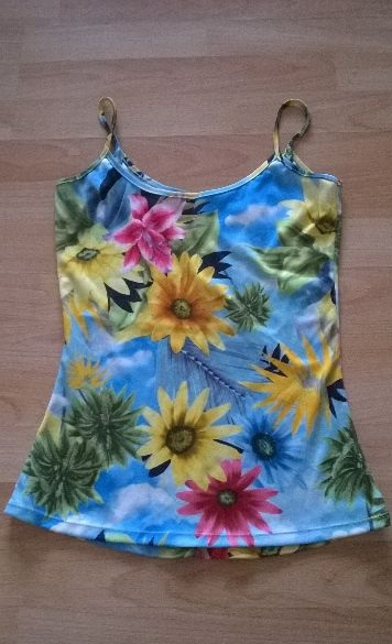 Letní veselé tričko, S