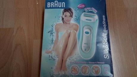 Luxusní strojek BRAUN Silk&Soft Body Shave,