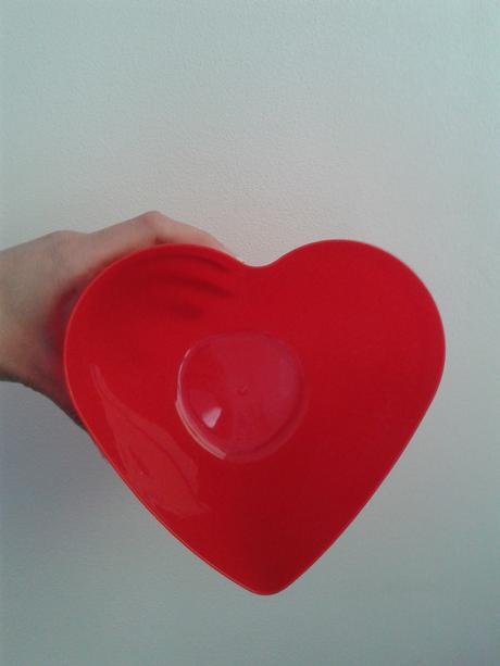Nadoba v tvare srdca,