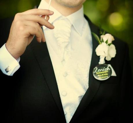 ženíchovská vesta +  franc.kravata,manž.gombíky ai, 44
