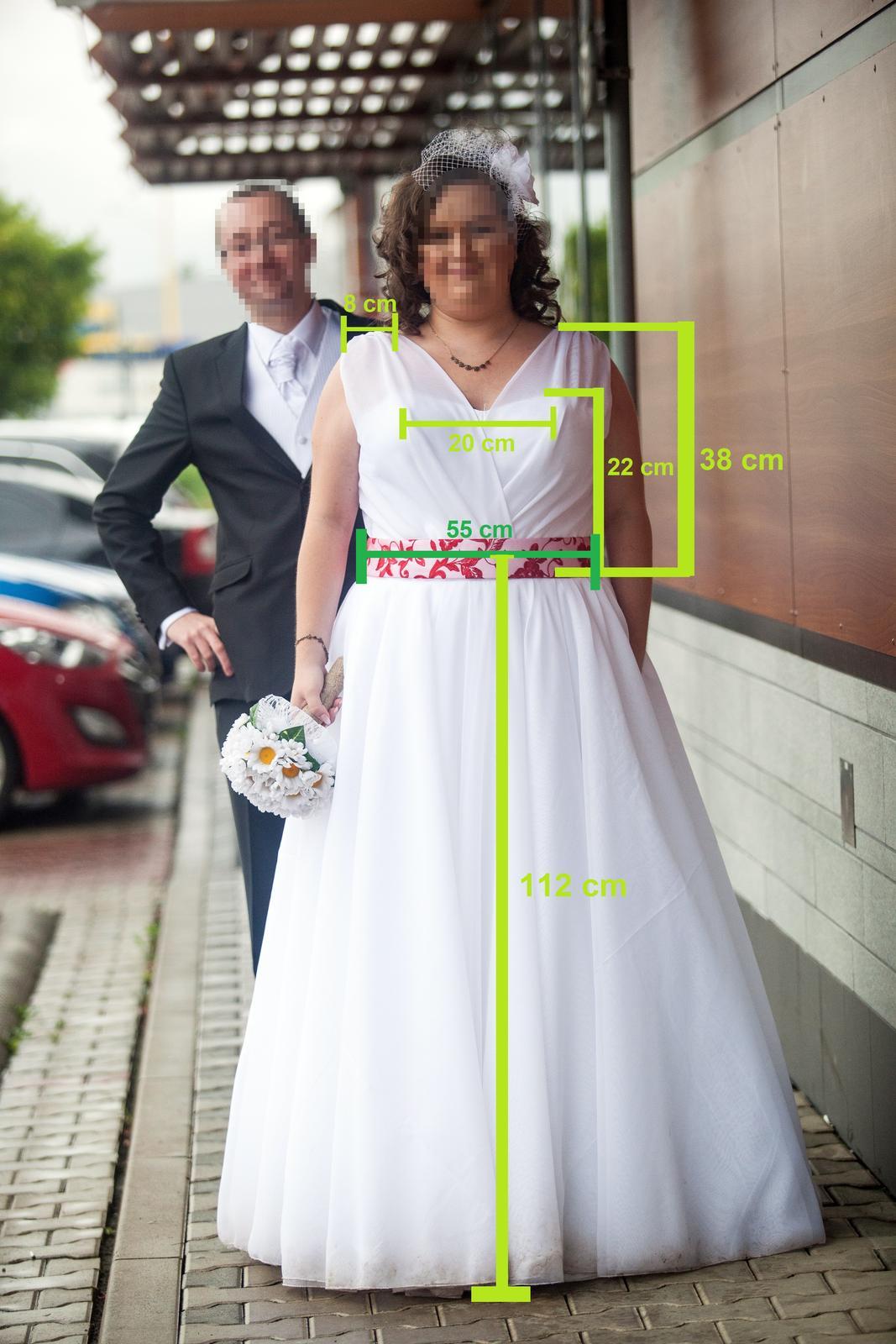 0ee1c25a957b Svadobné šaty pre plus size nevestičku