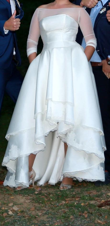 Originálne svadobné šaty, 38
