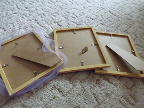 Dřevěné tabulky ,