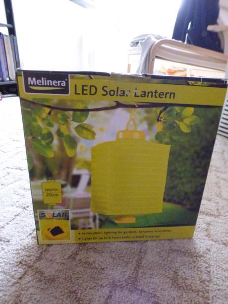 Solární lampion,