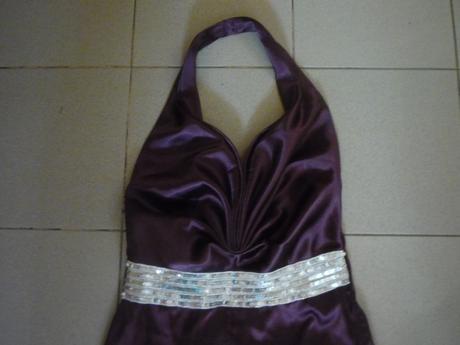 Spoločenské šaty fialovej farby , 42