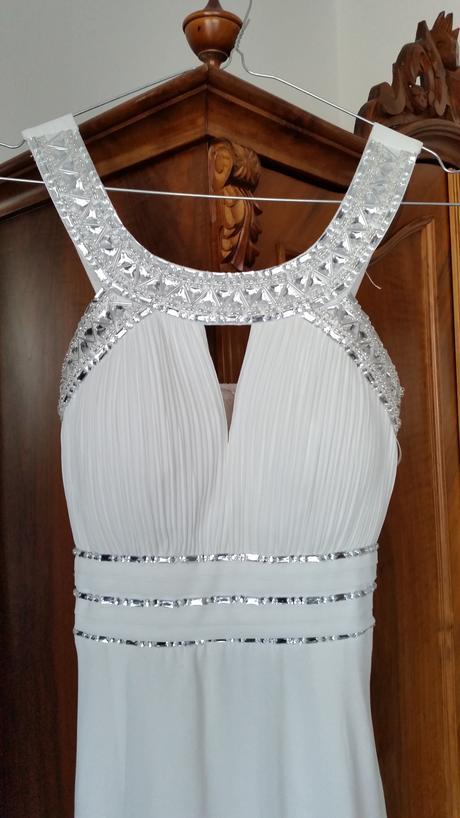 252c30283af Dlouhé sněhobílé šaty antický styl vel.36-40