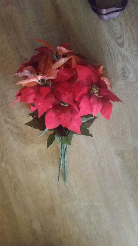 vianočná kytica,