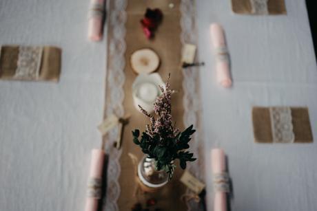 Kompletní svatební výzdoba v přírodním stylu,