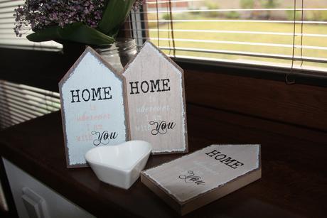 dekorace domečky Home sweet Home,