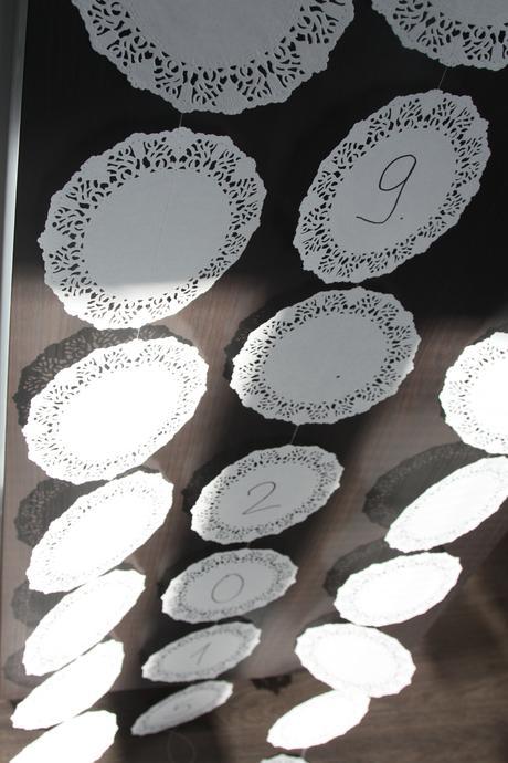 Girlanda závěs - různé druhy (počet koleček).,