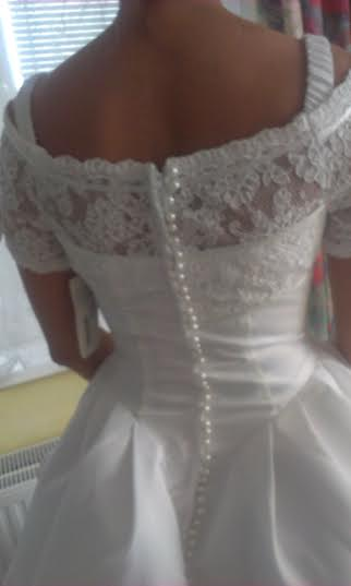 Nadherné holandske lacné svadobné šaty , 38
