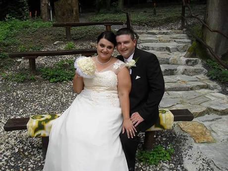 svadobné šaty s francúzskou kravatou, 50