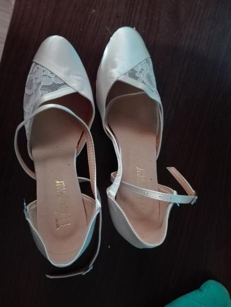 svadobné tanečné topánky, 37