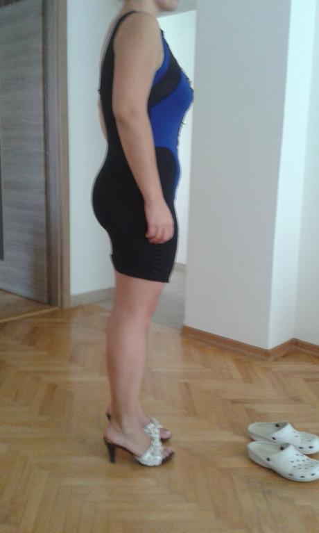 Šaty kráľovsko modrá, L