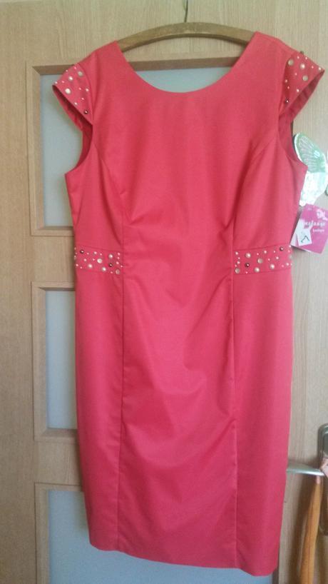 Spoločenské šaty pre svadobnu mamu, 48