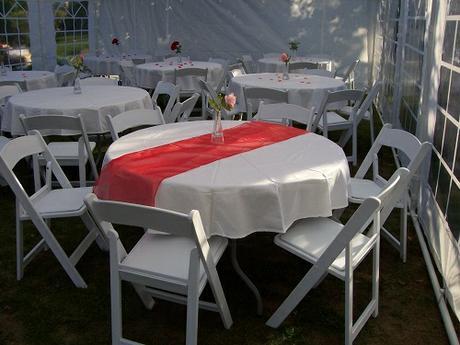 Půjčení svatebních židlí,