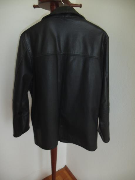 Pánska kožená bunda, 42