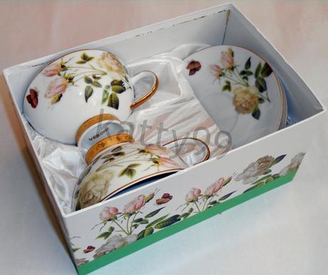 Úžitkové porcelánové šálky - nerozbalené,