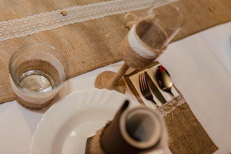 vintage svadobne pohare,