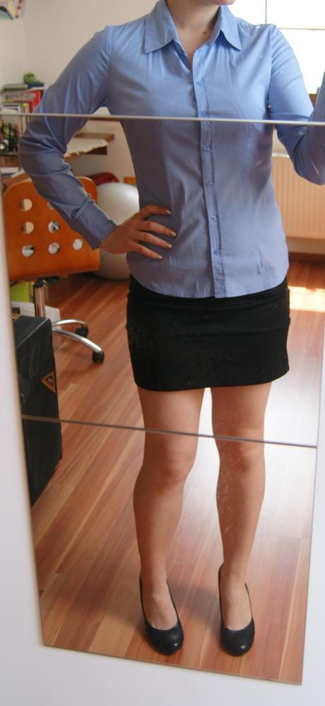 Pásikavá elegantná košeľa, M
