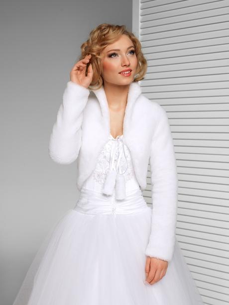 svatební kabátek,